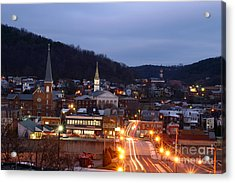 Cumberland At Night Acrylic Print by Jeannette Hunt
