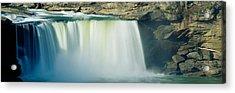 Cumberland Falls, Cumberland River Acrylic Print by Panoramic Images