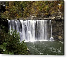 Cumberland Falls H Acrylic Print