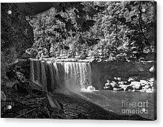 Cumberland Falls Six Bw Acrylic Print