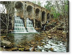 Cumberland Waterfall Acrylic Print by Debbie Green