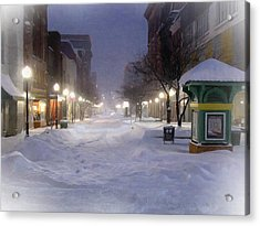 Cumberland Winter Acrylic Print