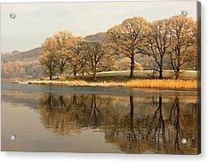 Cumbria, England  Lake Scenic Acrylic Print by John Short