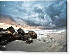 Acrylic Print featuring the photograph Cumuloterra by Ryan Weddle