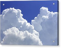 Cumulus Clouds Acrylic Print