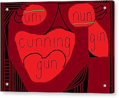 Cunning  Acrylic Print by Anita Dale Livaditis