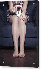 Cup Of Coffee Acrylic Print by Joana Kruse