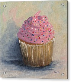 Cupcake 004 Acrylic Print by Torrie Smiley