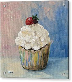 Cupcake 005 Acrylic Print by Torrie Smiley