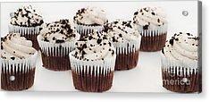 Chocolate Cupcake Cuties Panorama Acrylic Print