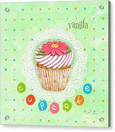 Cupcake-vanilla Acrylic Print