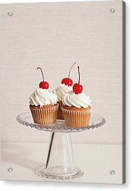 Cupcakes Acrylic Print by Photograph By Eric Isaac