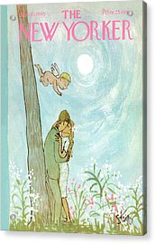 Cupid Coupling Acrylic Print by William Steig