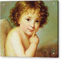 Cupid Acrylic Print by Elisabeth Louise Vigee-Lebrun