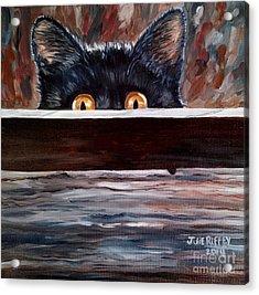 Curiosity Acrylic Print by Julie Brugh Riffey