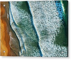 Curl Curl Aerial Acrylic Print