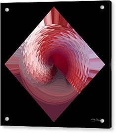 Acrylic Print featuring the digital art Curl I by rd Erickson