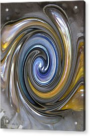 Curlicue Twirl Acrylic Print