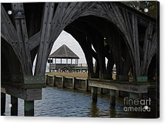 Acrylic Print featuring the digital art Currituck Inlet by Kelvin Booker