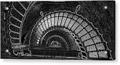 Acrylic Print featuring the photograph Currituck Lighthouse Stairs by Greg Reed