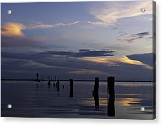 Currituck Sound Sunset Acrylic Print