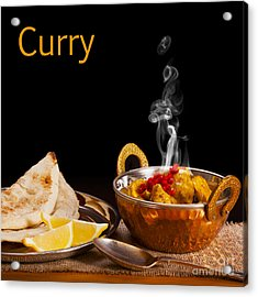 Curry Concept Acrylic Print by Colin and Linda McKie