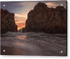 Curtain Call At Big Sur Acrylic Print