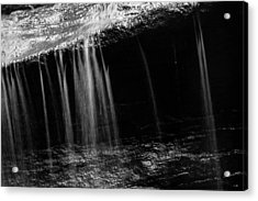 Acrylic Print featuring the photograph Curtain Of Water by Haren Images- Kriss Haren