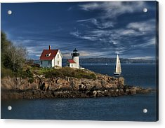 Curtis Island Lighthouse Maine Img 5988 Acrylic Print