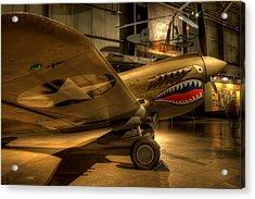 Curtiss P-40 Warhawk Acrylic Print