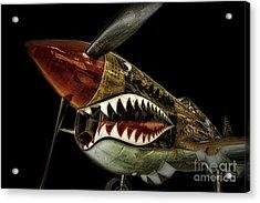 Curtiss P40 Warhawk  ... Acrylic Print by Chuck Caramella