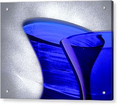Curvature 5...shadows Acrylic Print by Tom Druin