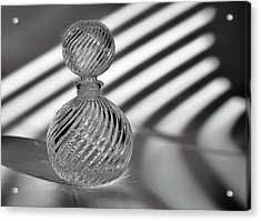 Curvatures 2...black And White Acrylic Print by Tom Druin