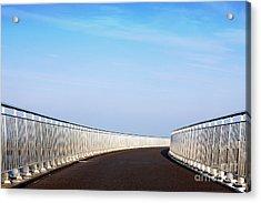 Curved Bridge Acrylic Print
