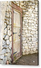 Curved Door Acrylic Print
