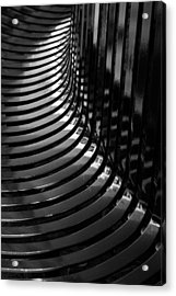 Curved Acrylic Print by Wendy Wilton