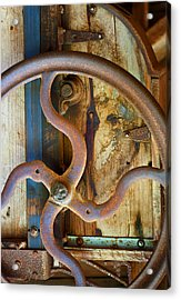 Curves And Lines Acrylic Print by Stephen Anderson