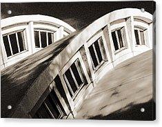 Curves Acrylic Print by Arkady Kunysz