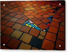 Curvy Floor Acrylic Print by Ivan Slosar