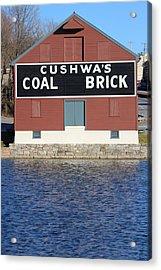 Cushwa Coal Acrylic Print by JB Stran