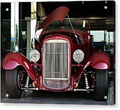 Custom 1927 Model T Dream Machine Acrylic Print by Lorenzo Williams