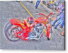 Custom Bike Acrylic Print