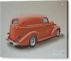 Custom Delivery Truck Acrylic Print by Paul Kuras
