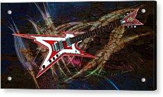 Custom Guitar  Acrylic Print