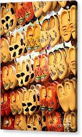 Cute Clogs Acrylic Print by Carol Groenen