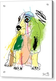 Cute Dog 2 Acrylic Print by Mark Ashkenazi