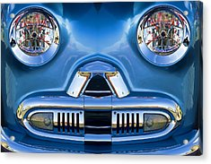 Cute Little Car Faces Number 2 Acrylic Print