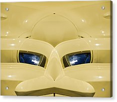 Cute Little Car Faces Number 3 Acrylic Print