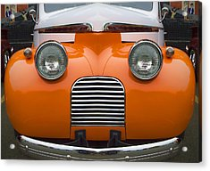 Cute Little Car Faces Number 5 Acrylic Print