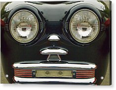 Cute Little Car Faces Number 6 Acrylic Print